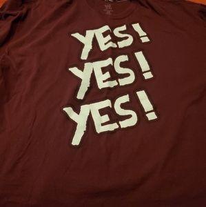 2XL WWE Daniel Bryan T shirt
